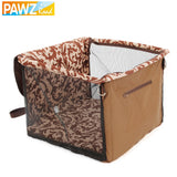 Domestic Delivery Dog Seat Safety Travel Accessories Puppy Dog Cat Carrier Travel Seat Suit for Small and Medium Pet