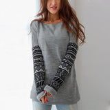 Long Sleeves Printed Sweatshirts Casual Pullovers Women Sweatshirts Sudaderas Girls Pullovers Women Suit Tops Hoody