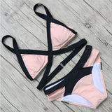 Sexy Bandage Brazilian Bikini Women Swimwear 2016 Bikinis Push Up Swimsuit Biquini Bathing Suit Bikini Set maillot de bain Hot !