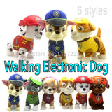 Walking Barking Musical Robot Dog Electronic pet Toys Interactive Electric Pets Plush Toy Dog Christmas Gift For Kids