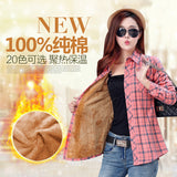 2016  Warm Winter New Hot Fashion Multicolor Women Tops Shirts jacket coat Plus Size Blusas Leisure young Blouses 8898