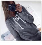 Women Sweatshirt Autumn Hoodies Long Sleeve Hoodied Casual Pullover Sweatshirts  Clothes Women