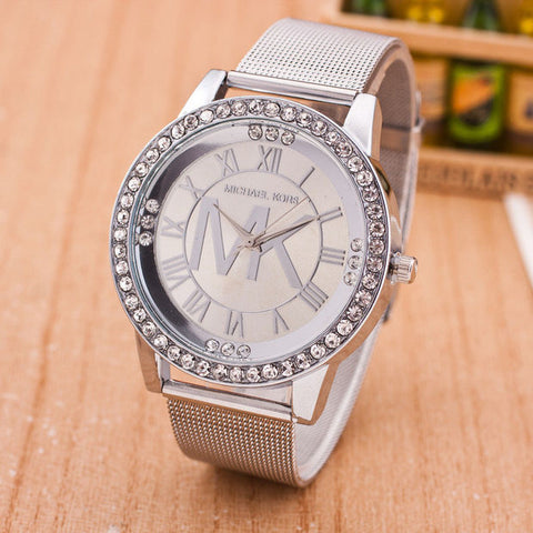 Fashion Alloy Watch Diamonds Quartz Watch (With Thanksgiving&Christmas Gift Box)