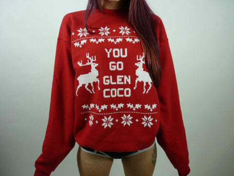You Go Glen Coco Ugly Christmas Sweater Hoodies