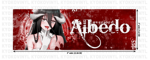 Overlord - Albedo Anime Slap Sticker