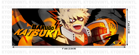 My Hero Academia - Katsuki Bakugo Anime Slap Sticker