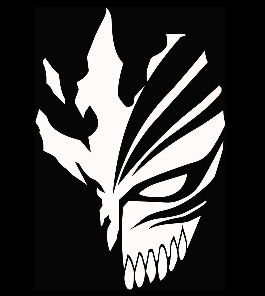 Bleach ichigo hollow mask anime decal kyokovinyl