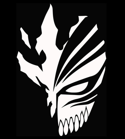 Bleach -- Ichigo Hollow Mask Anime Decal Sticker