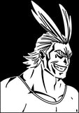 My Hero Academia -- All Might (Toshinori Yagi) Anime Decal Sticker