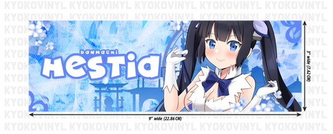 DanMachi - Hestia Anime Slap Sticker