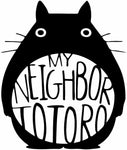 Studio Ghibli -- My Neighbor Totoro (logo style) Anime Decal Sticker
