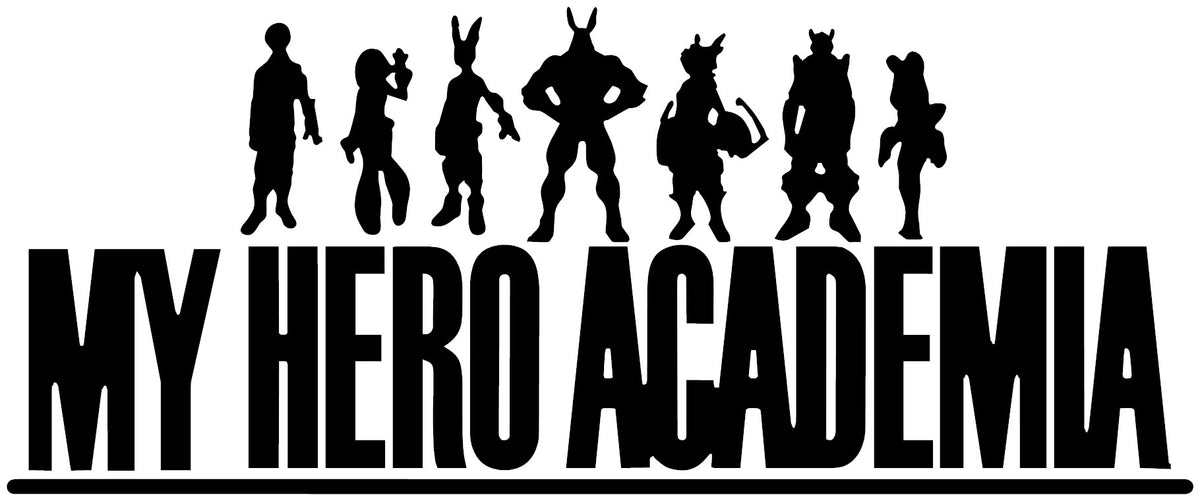 My Hero Academia Logo Anime Decal Kyokovinyl If you enjoy this franchise as much as i do, please do read! kyokovinyl