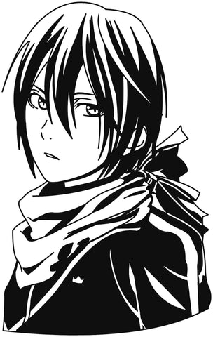 Noragami -- Yato Anime Decal Sticker