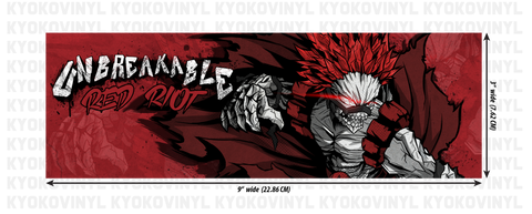 My Hero Academia - Red Riot (Kirishima) Anime Slap Sticker