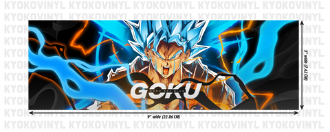 Dragon Ball Super - Goku Anime Slap Sticker