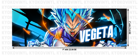 Dragon Ball Super - Vegeta Anime Slap Sticker