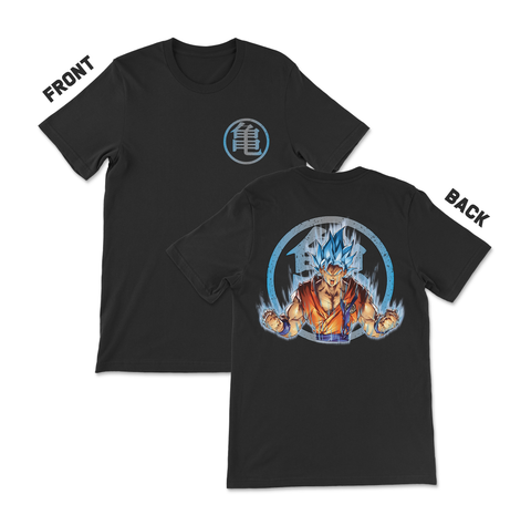Dragon Ball Z - Goku Super Saiyain Blue Anime T-Shirt