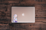 Re:Zero -- Emilia Anime Decal Sticker