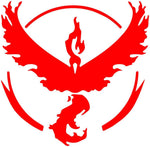 Pokemon Go -- Team Red (Valor) Decal Stickers