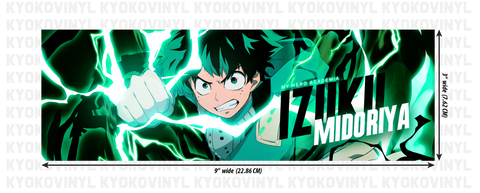 My Hero Academia - Izuku Midoriya (Deku) Anime Slap Sticker