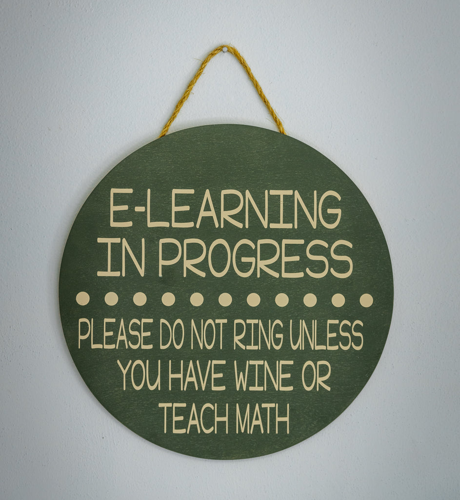 E-LEARNING DOOR HANGER