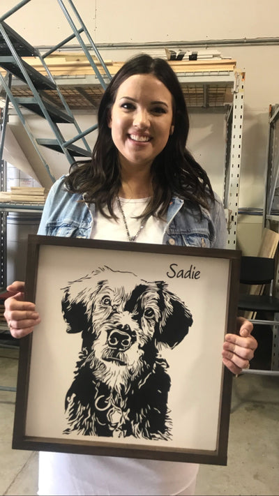 Framed Pet Portraits