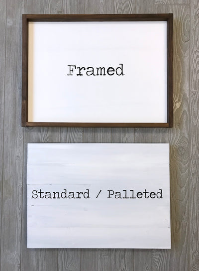 Standard Workshop Signs DIY Kits