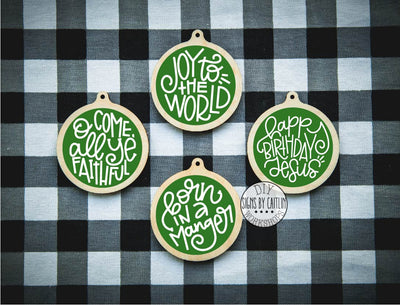 Joy to the World Ornament Kit
