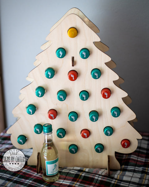 Tipsy Tree MINI LIQUOR Adult Advent Calendar