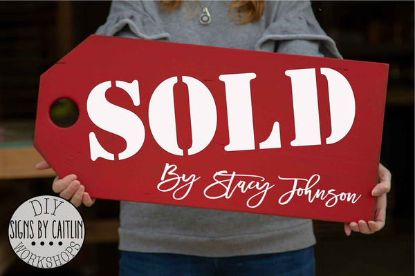 Realtor Sold Tag