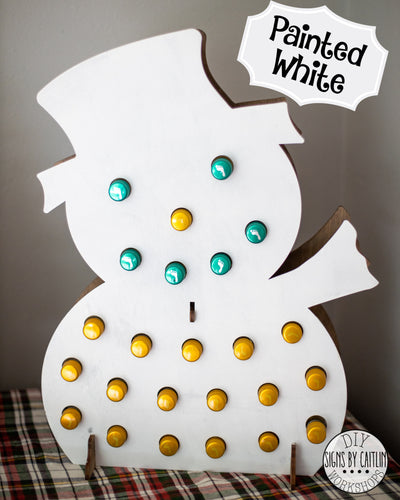 Tipsy Snowman MINI WINE Adult Advent Calendar