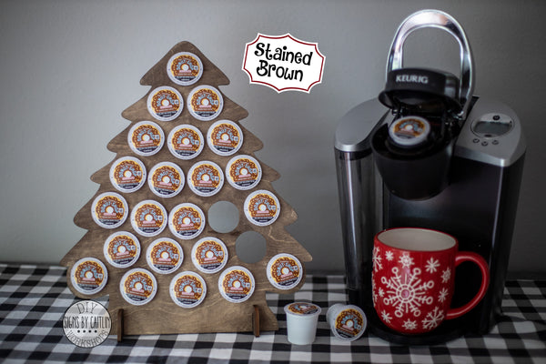 Coffee K-Cup Tree Advent Calendar