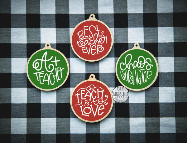 Teacher Ornament Kit