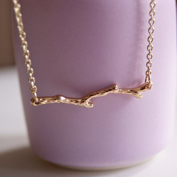 Branch Necklace Gold- Golden Rule Jewelry Co.