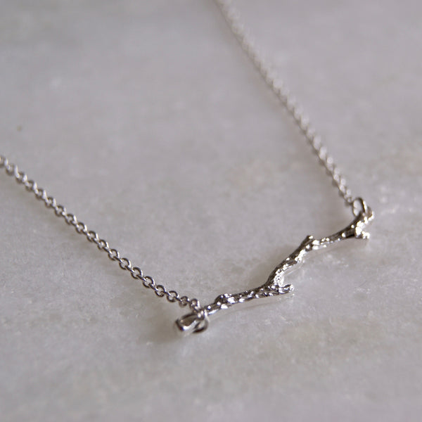 Branch Necklace Silver- Golden Rule Jewelry Co.