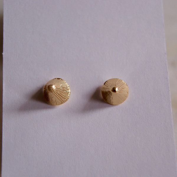 Spikette Gold Earrings - Golden Rule Jewelry Co.