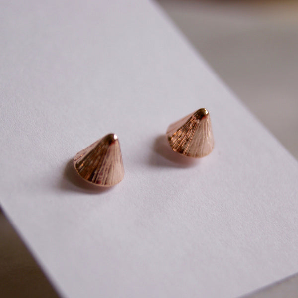 Spikette Rose Gold Earrings - Golden Rule Jewelry Co.