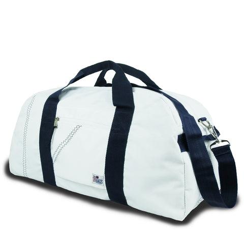 Seconds Duffel Bag Large 52L - White/Navy