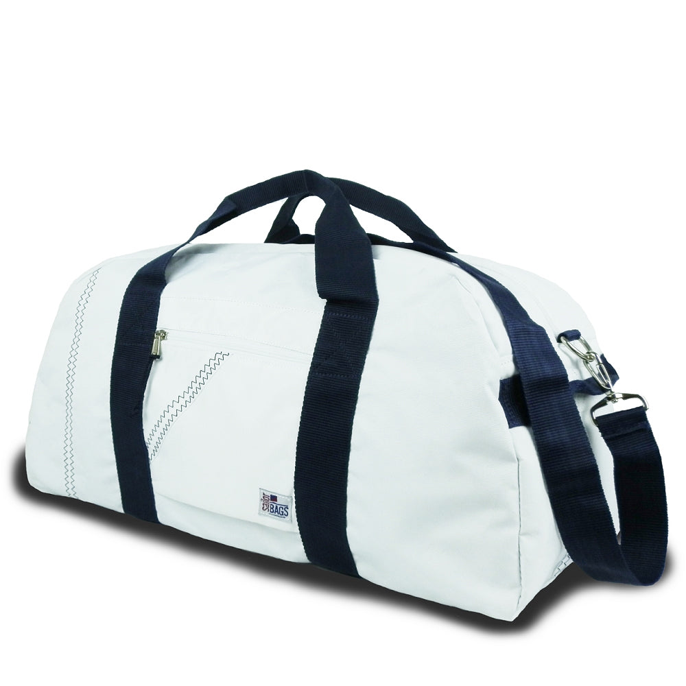Duffel Bag Large 52L - White/Navy