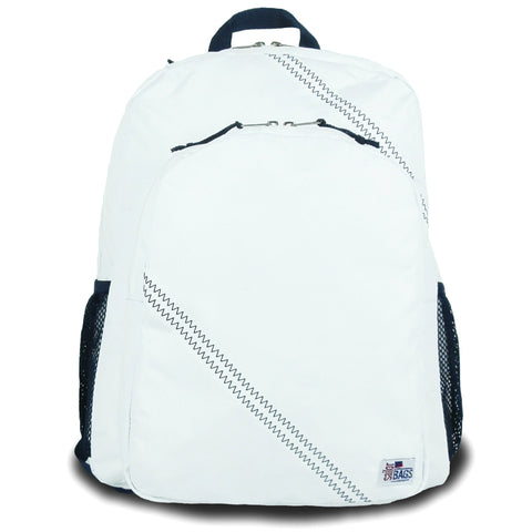 Seconds Sailcloth Backpack - White