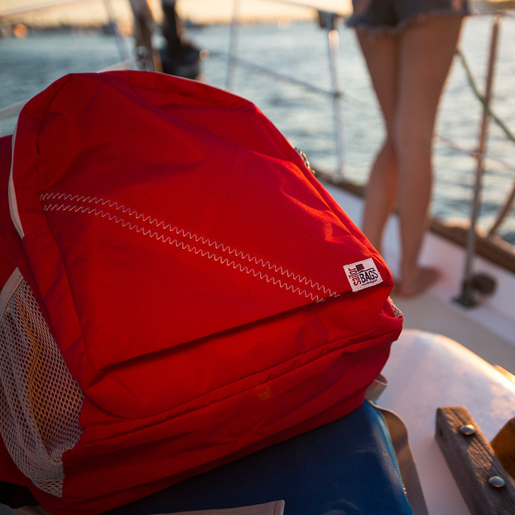 Sailcloth Backpack - SailorBags Australia - 9