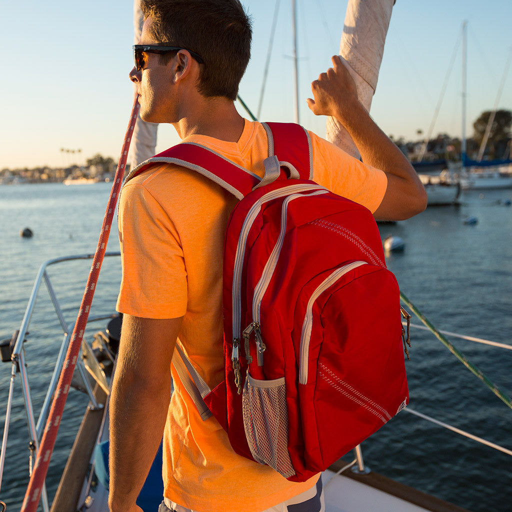 Sailcloth Backpack - SailorBags Australia - 7