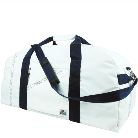 Seconds Duffel Bag X-Large - White/Navy
