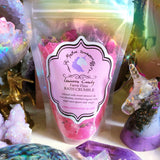 MYSTIC UNICORN Unicorn Candy Faerie Floss Crystal Infused Bath Crumble