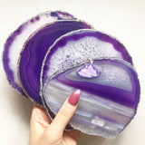 WITCH'S CHALICE AGATE COASTER