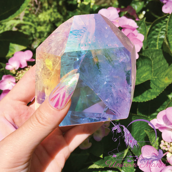 Angel Aura Quartz Standing Point #1