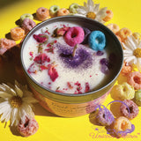 MYSTIC UNICORN x Daisy's Fruit Loops Crystal Candle