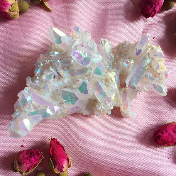 Angel Aura Quartz Cluster #1