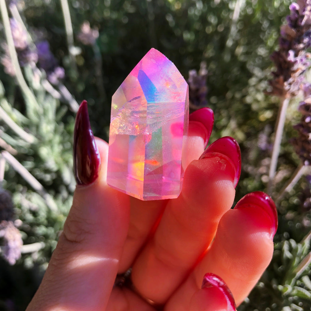Rose Aura Quartz Crystal Generator #1