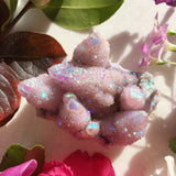 Lavender Angel Aura Spirit Quartz Large #5